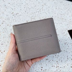 NWT Authentic Tod's Leather Men's Bifold Wallet